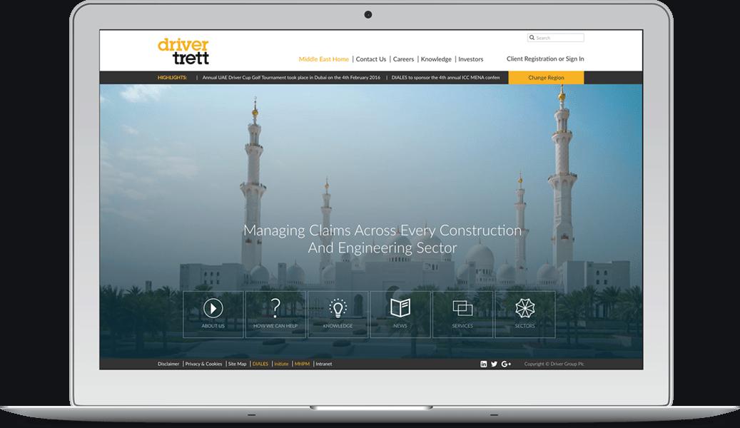 Driver Group Website Design Development